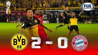 FESTA AMARELA! Borussia vence o Bayern e conquista a Supercopa da Alemanha