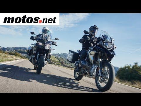Comparativo BMW R 1250 GS vs Kawasaki Versys 1000 SE   Preview en español   motos.net