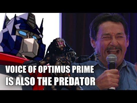 Voice of Optimus Prime is also The Predator (vocalizations by Peter Cullen) - UCVF08R0wvyo5lQb6IPKQ3lA