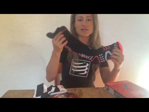 Vídeo dos produtos pernito R2 e Full Socks da Compressport!