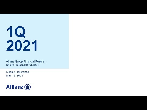 Allianz Group Financial Results for the first quarter of 2021