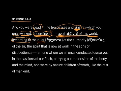 Ephesians 2:13 // Part 7 // This Present Evil Age of Sin