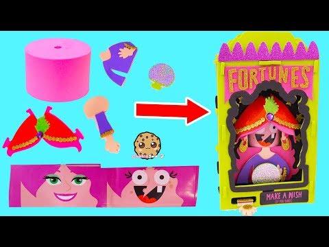 DIY Foam Kit Halloween Fortune Teller Easy No Glue Craft Set How To Video - UCelMeixAOTs2OQAAi9wU8-g