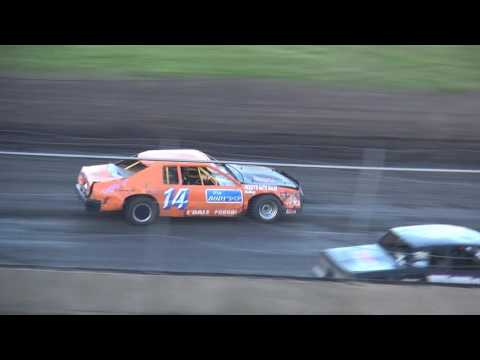 IMCA Stock Car feature Benton County Speedway 5/22/16 - dirt track racing video image