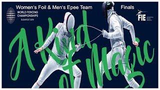 World Championships Budapest 2019 Team DE-Day05 Finals
