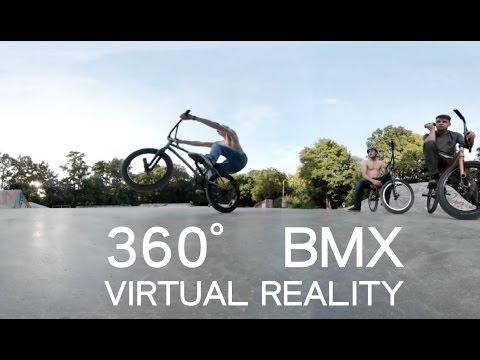 BMX 360° VR - Virtual Reality Skatepark Video! 4K!