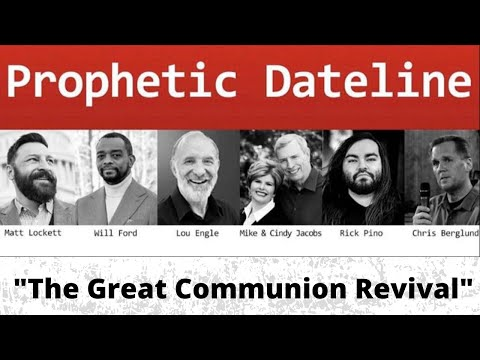 Prophetic Dateline with Cindy Jacobs, Lou Engle, Rick Pino