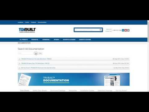TRI-BUILT® Documentation