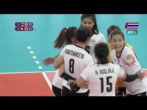 ไฮไลท์ วอลเลย์บอลหญิง ซีเกมส์ ไทย v ฟิลิปปินส์ (เซตที่ 2) 5 ธ.ค. 2019