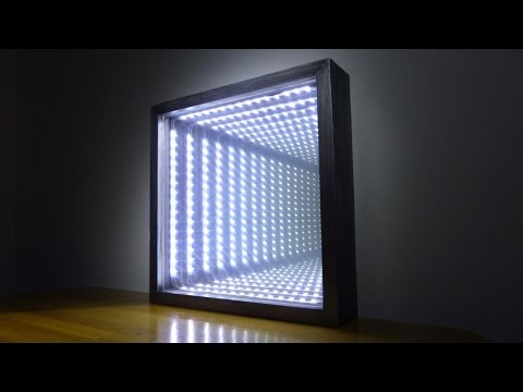 How to Make an Led Infinity Illusion Mirror - UCtMM9yct8wrdLEZNwLkj-2Q