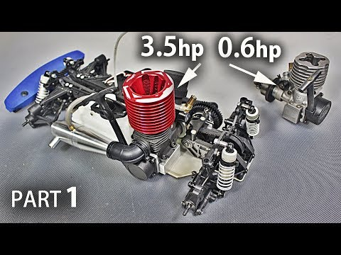 Part 1- Restoring My Old Nitro R/C Car and Installing A *HUGE* Engine on it - UCfCKUsN2HmXfjiOJc7z7xBw