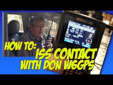 How to contact the international space station