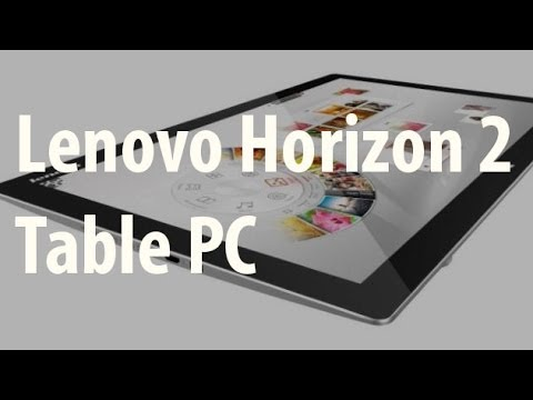 Lenovo Horizon 2 Table All-in-One Computer - CES 2014 - UCtKh7t3br1obEQL6EyiAq0w