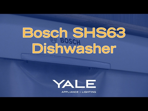 The Bosch SHS63 Dishwasher [Ratings/Reviews/Price]