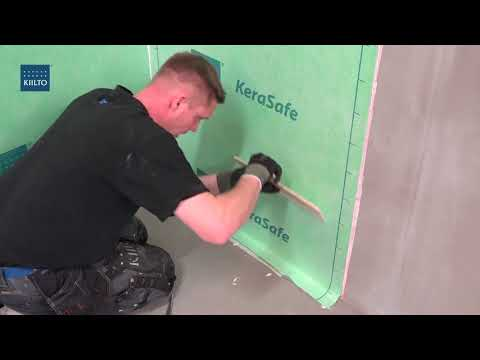 Kiilto KeraSafe - Fast and easy waterproofing system