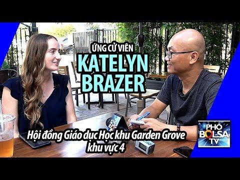 Muốn làm giáo dục ở Mỹ, phải tranh cử: phỏng vấn ƯCV Katelyn Brazer