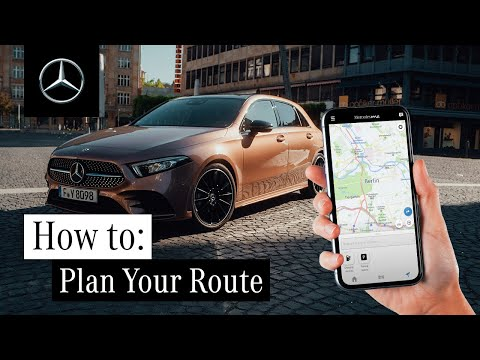 How to Plan Your Route with Mercedes me Charge