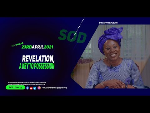 Dr Becky Paul-Enenche - SEEDS OF DESTINY  FRIDAY APRIL 23, 2021