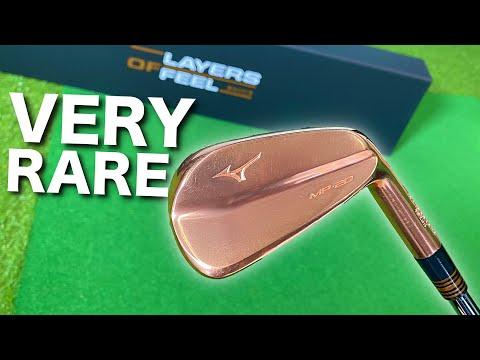 The world's RAREST golf clubs | Mizuno MP-20 COPPER