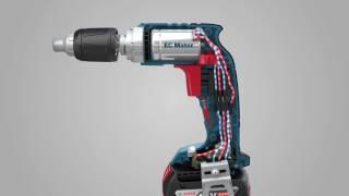 Kipsikruvikeeraja Bosch GSR 18 V-EC TE + MA55