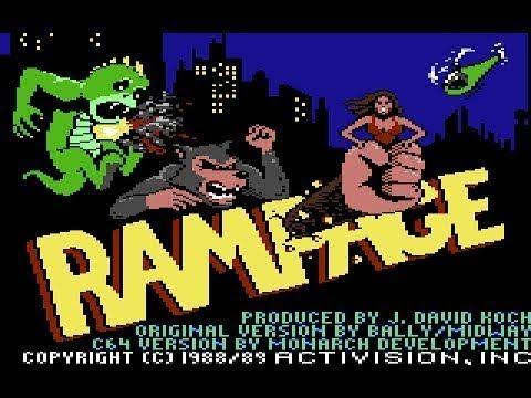 Rampage (Commodore 64) - Por RETROJuegos de Fabio Didone
