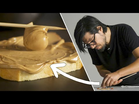 How A Food Stylist Makes A Peanut Butter & Jelly Sandwich ? Tasty