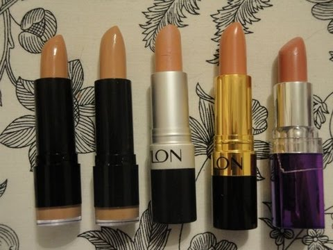 Drugstore Favorites: Nude Lipsticks (Top 10)