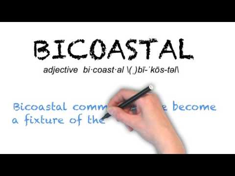 How to Pronounce 'BICOASTAL' - English Pronunciation