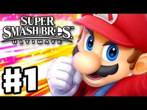 Super Smash Bros Ultimate - Gameplay Walkthrough Part 1 - Mario! Spirits & Classic (Nintendo Switch) - UCzNhowpzT4AwyIW7Unk_B5Q