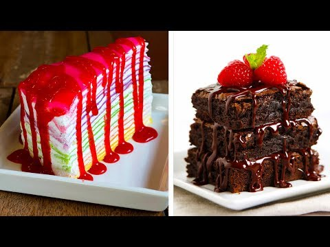 10 Yummy Cake Ideas That Will Have You Breaking All Your Diet Plans!! Amazing Desserts by So Yummy