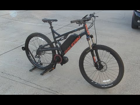 1400w Mid Drive KODIAK Full Suspension Bike