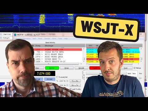 WSJT-X for the Beginner - Setup and Operation   Ham Radio Basics