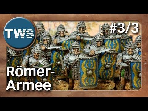 Bemalung: Römer-Armee für SAGA #3/3 / roman army (Tabletop-Miniaturen, Malathon, TWS)