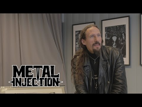 GAAHL Discusses Fine Art, The Anger In His Paintings And More At Galleri Fjalar  Metal Injection