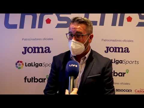 Reunión entre la LNFS y Javier Merino, portavoz de Deportes del PP