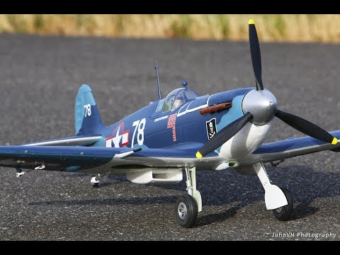 Durafly Supermarine Seafire MkIIB 1100mm Pacific Scheme Unboxing, Assembly and Maiden from Hobbyking - UCLqx43LM26ksQ_THrEZ7AcQ
