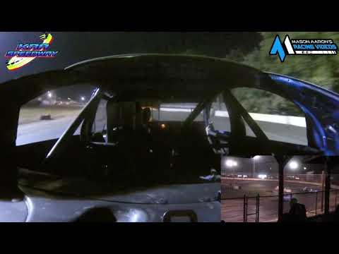 #H20 Nic Hiles WISSOTA Hornet On-Board @ KRA (8/5/21) - dirt track racing video image