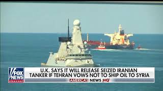 UK to release seized Iranian oil tanker that violated EU sanctions