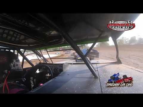 #77J Julie Sheperd - Midwest Mod - 9-5-2021 Springfield Raceway - In Car Camera - dirt track racing video image