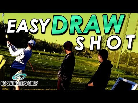 Easiest Draw Shot You'll Ever Make - Golf Swing Tips