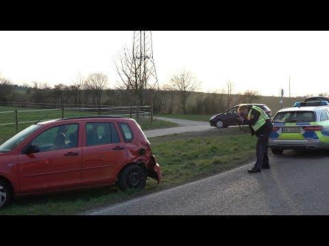 Unfall mit zwei Verletzten