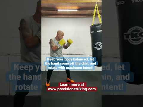 Common Right Hand Mistakes #boxing #RightHand #Punchingpower