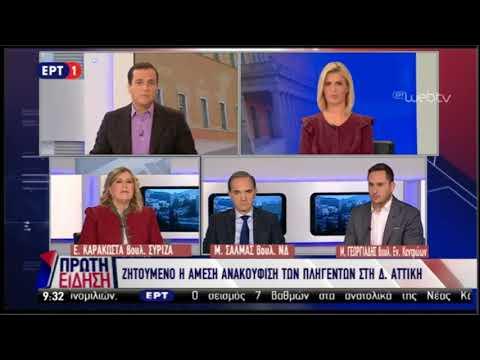 Μ. Γεωργιάδης / Πρώτη Είδηση, ΕΡΤ1 / 20-11-2017