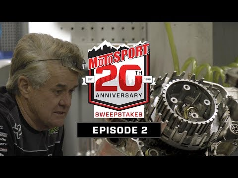 The MotoSport.com 20th Anniversary Sweepstakes | Episode 2