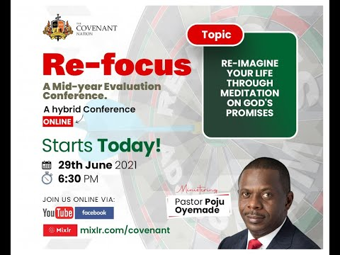 Re-focus Conference    Day 1  29062021