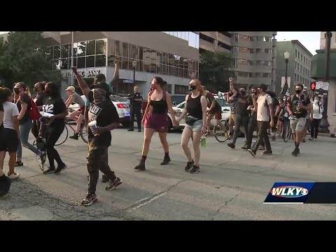 2 arrested, 6 cited on 74th night of protests in Louisville, police say