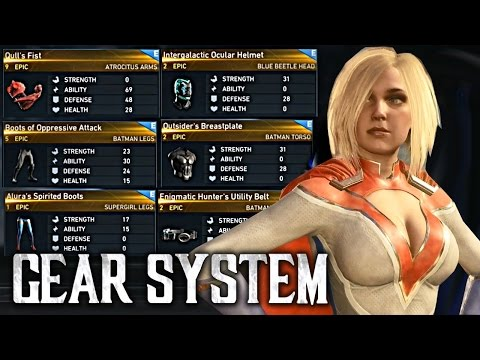 Injustice 2: Gear System Explained! [I2: Gear Mechanics and Gears - How it works!]