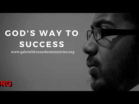 GOD'S WAY TO SUCCESS, Daily Promise and Prayer with Ev Gabriel Fernandes