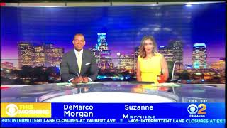 KCBS CBS 2 News this Morning at 6am open August 19, 2019