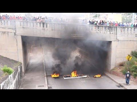 مواجهات بين قوات الأمن ومناصري المعارضة في هندوراس